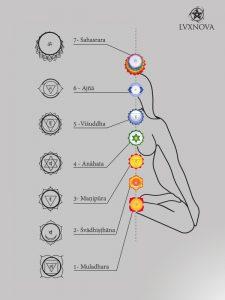 i 7 chakra umani