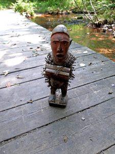 Statuetta o dagida per fattura