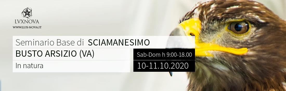 Seminario Base di sciamanesimo - Busto Arsizio – Ottobre .2020