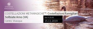 Costellazioni Familiari Metamagiche a Varese - Novembre 2019