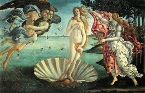 Venere-afrodite, dea della bellezza e dell'Amore