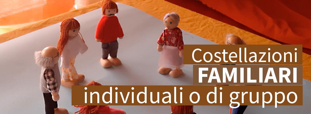 Costellazioni familiari individuali o di gruppo