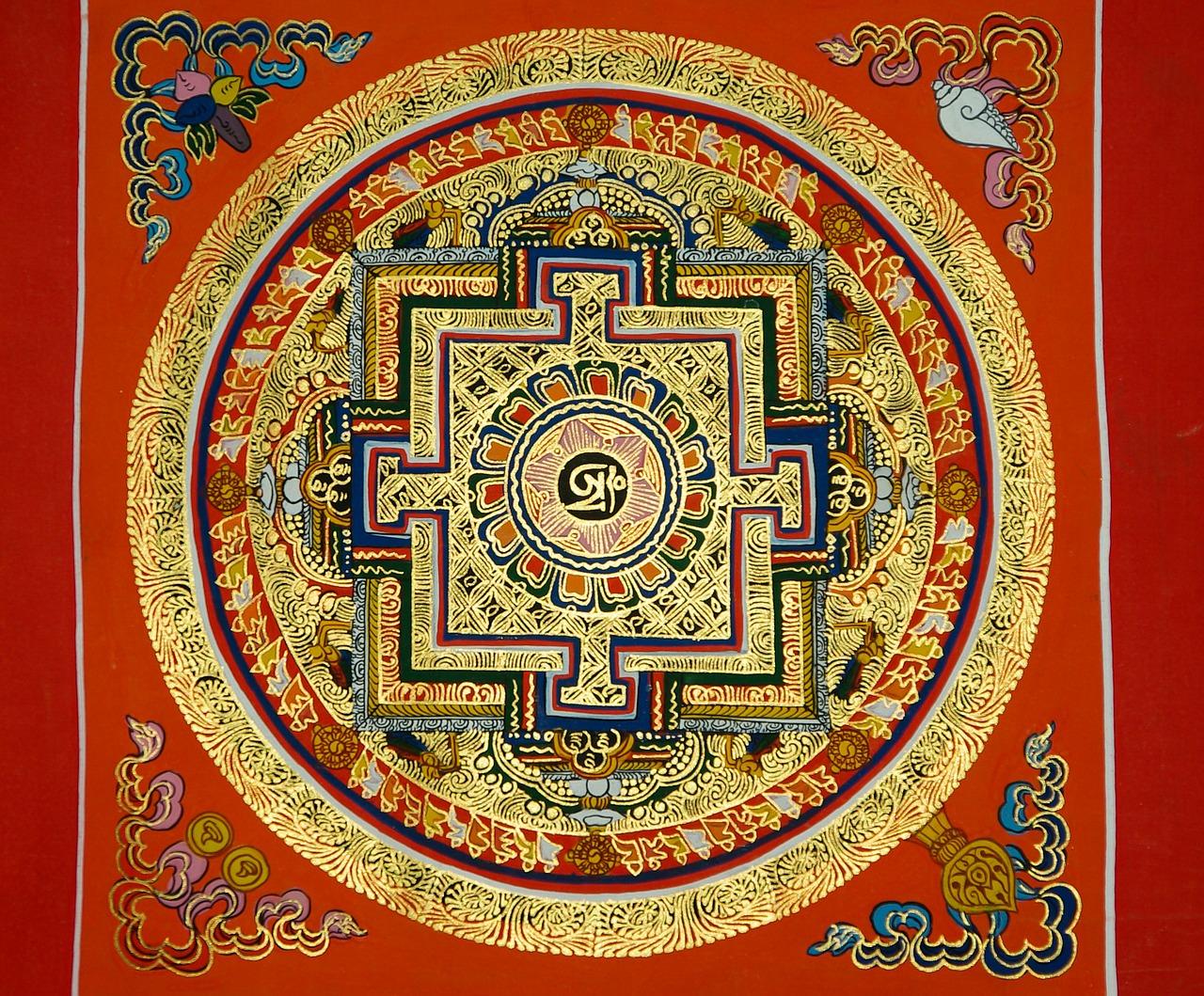 Mandala tibetano-nepalese