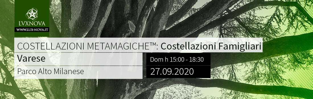 Costellazioni Metamagiche - Varese - 27.09.2020