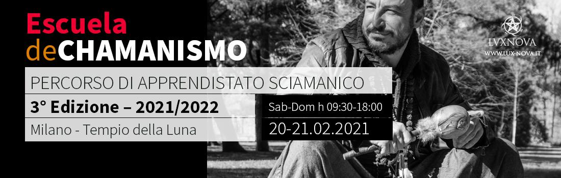 Corso di sciamanesimo - Escuela de Chamanismo - Anno 2021 - 3° Edizione