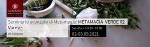 Seminario Ava. Metamagia – Metamagia Verde 02 - Varese – 02.09.2021