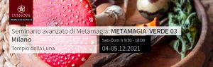 Seminario avanzato di metamagia verde 03 - 04.12.2021