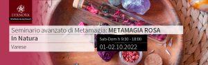 Seminario avanzato di metamagia rosa Varese 01-.10.2022