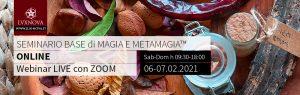 Seminario base metamagia ONLINE febbraio 2021