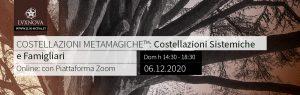Costellazioni Familiari Metamagiche Online Dicembre 2020