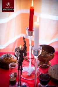 Foto rito di purificazione