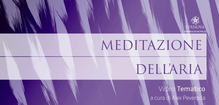 Meditazione sull'elemento Aria