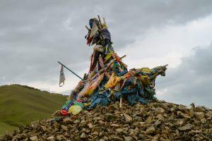 Altare sciamanico mongolo