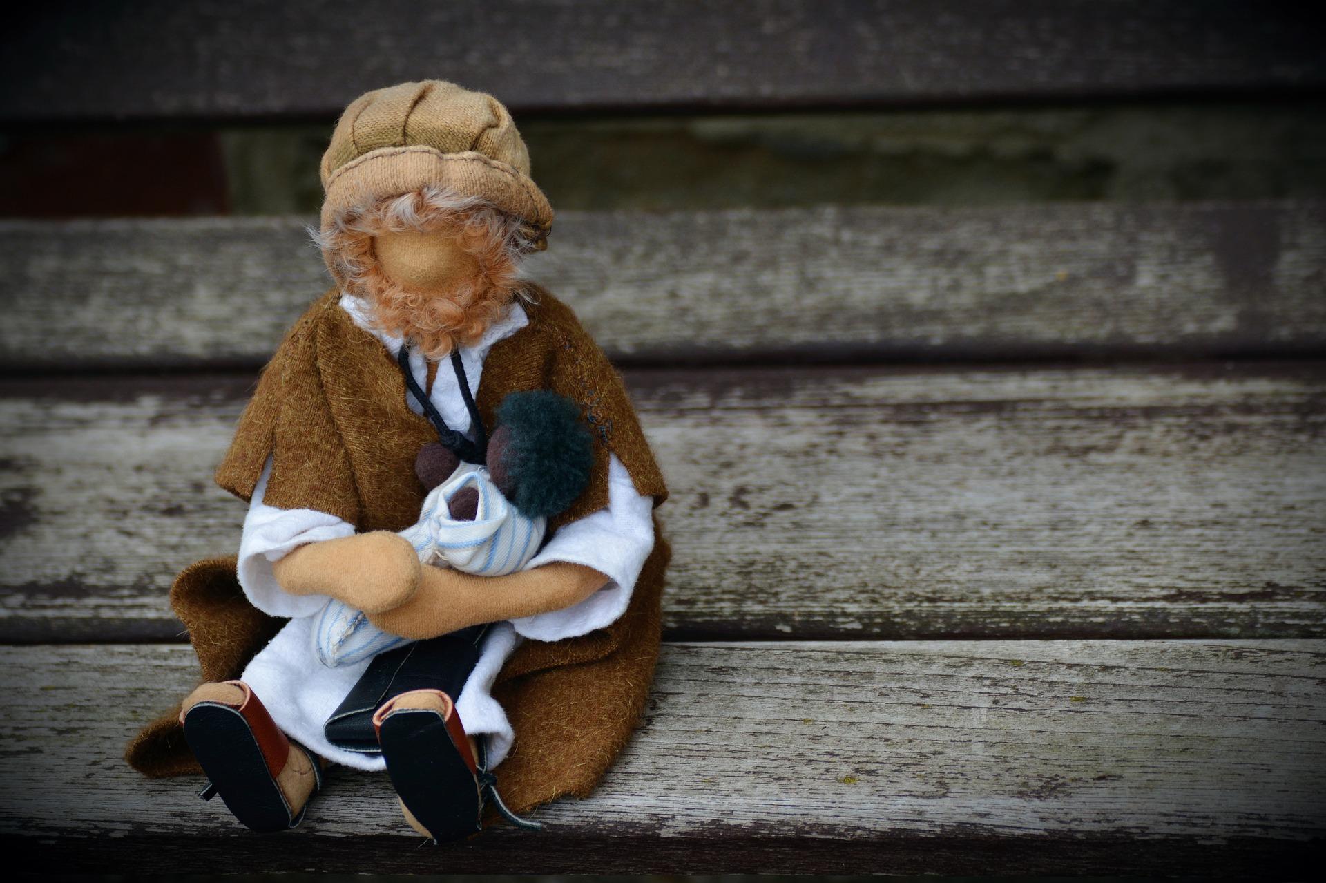 Bambola di protezione magica