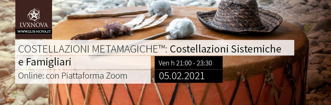 Costellazioni Metamagiche Online Febbraio 2021