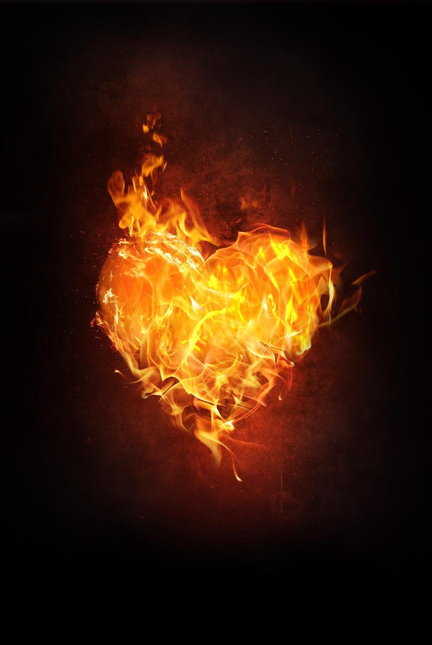 Meditazione sul cuore di fuoco