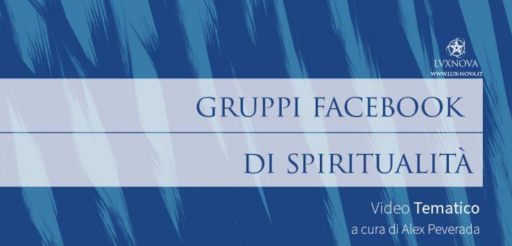 Gruppi Facebook di Spiritualità