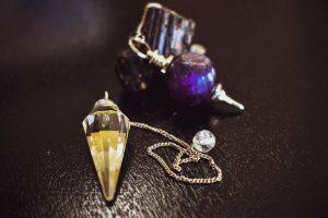 Pendolini in cristallo o quarzo