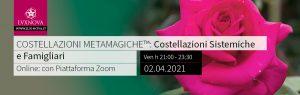 Costellazioni metamagiche online aprile 2021