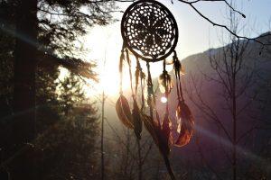 Acchiappa sogni come amuleto