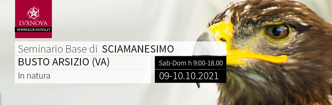Seminario base sciamanesimo busto arsizio milano varese ottobre 2021