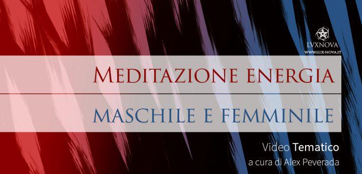 Meditazione energia maschile e femminile