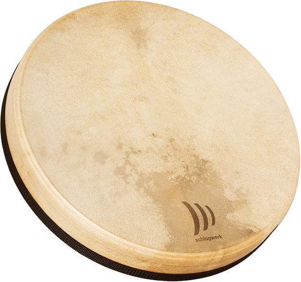 Schlagwerk tamburo industriale in pelle di capra per sciamani