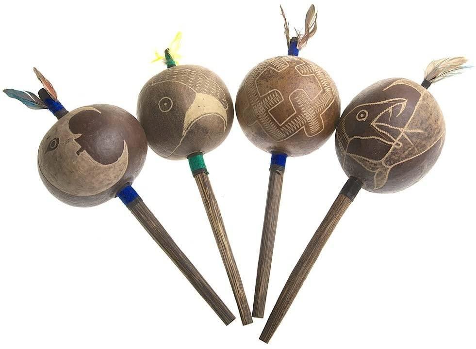 Tipico sonagli per pratica sciamanica- Questi amazzonici (Shipibo)
